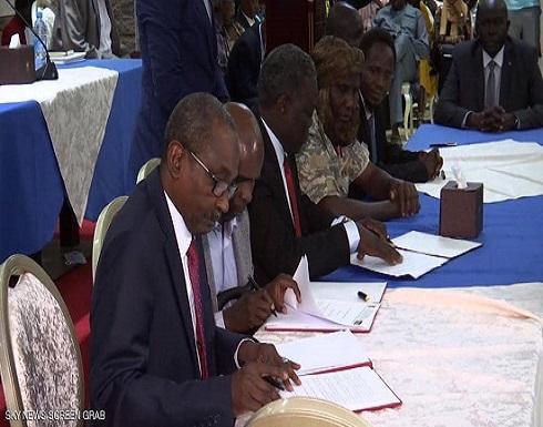 السودان.. توقيع 3 بروتوكولات أمنية لمسار دارفور