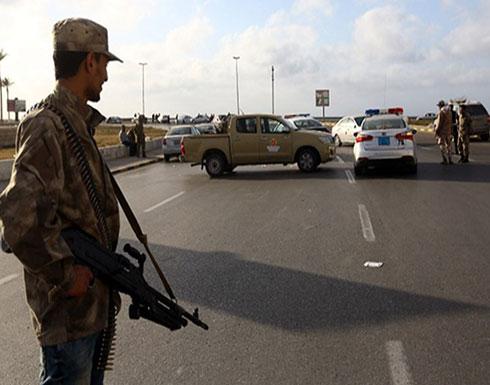 """بالفيديو : """"الوفاق"""" تطرد قوات حفتر من جنوب مطار طرابلس"""