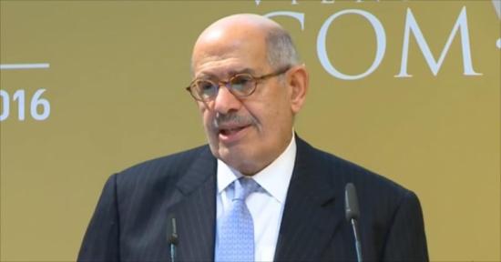 خبير إسرائيلي: عودة البرادعي للسياسة تقلق السيسي
