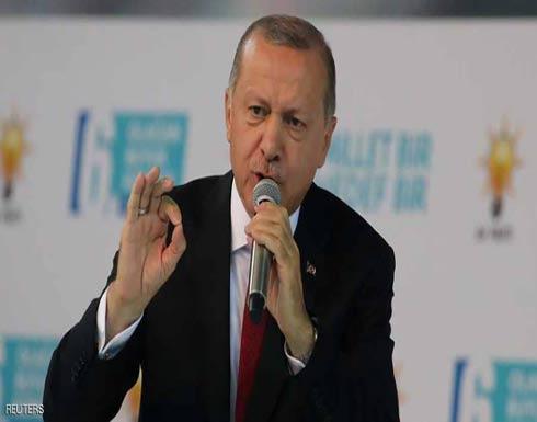 """أردوغان يواصل تصريحات """"انهيار الليرة"""".. ويهاجم """"المركزي"""""""