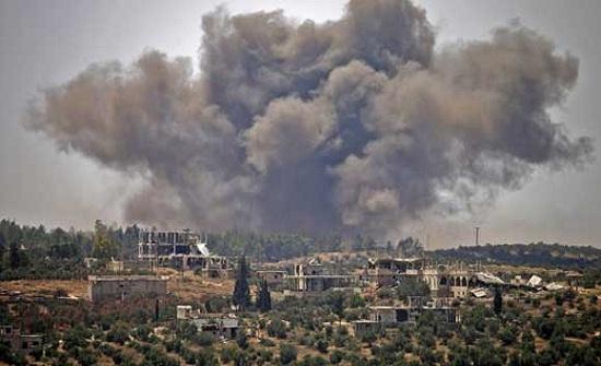 الأردن : سقوط 5 قذائف من سوريا على الطرة ووقوع اضرار مادية
