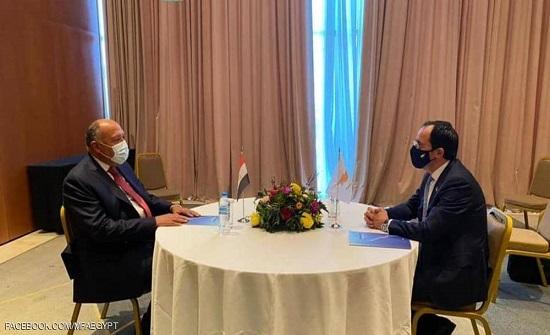"""مصر وقبرص تبحثان القضايا الإقليمية وتؤكدان على """"التعاون"""""""