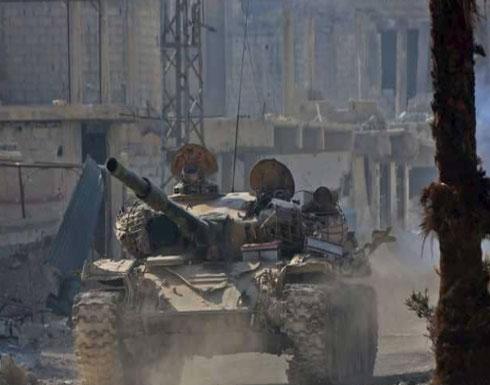 النظام السوري يعزز قواته بخطوط الغوطة الأمامية