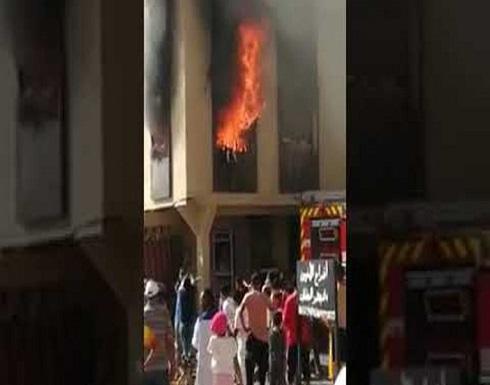 المغرب.. طفلة تحترق أمام أعين الناس
