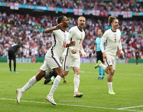 بالصور.. ثنائية إنجلترا تلقي ألمانيا خارج اليورو