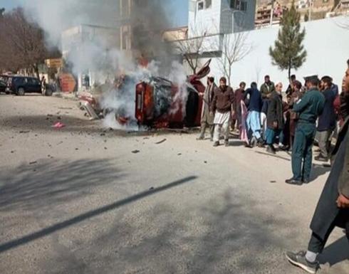 قتيل و11 مصابا في تفجير عبوة ناسفة في مدينة غزني وسط أفغانستان