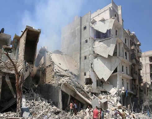 غارات روسية بالقنابل العنقودية تخرق الهدنة بريف إدلب