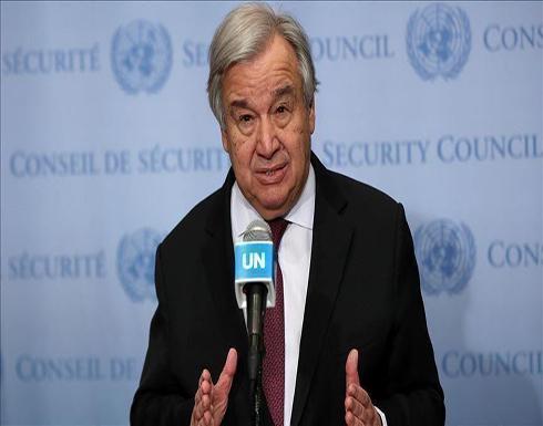 غوتيريش ينتقد قرار مجلس الأمن بدخول مساعدات سوريا من معبر واحد