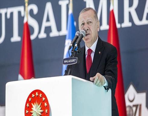 أردوغان: عازمون على نيل حقوقنا في البحار الثلاثة