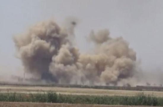 النظام ينتزع حقول نفط من تنظيم الدولة بالرقة