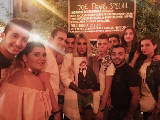 مايا دياب تلتقي بمعجبيها – بالصور