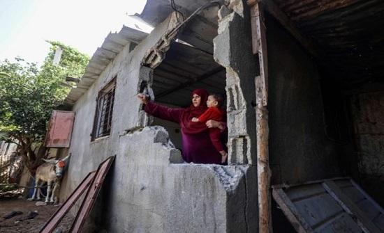 الشتاء يقرع أبواب غزة وسكان المناطق المتضررة جراء الحرب يخشون الانهيارات