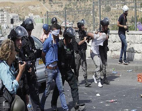 إسرائيل تعتقل 16 فلسطينيا في الضفة الغربية