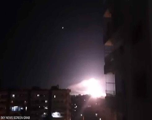 """بالفيديو : لليوم الثاني.. سوريا تعلن التصدي لـ""""مقذوفات"""" من إسرائيل"""