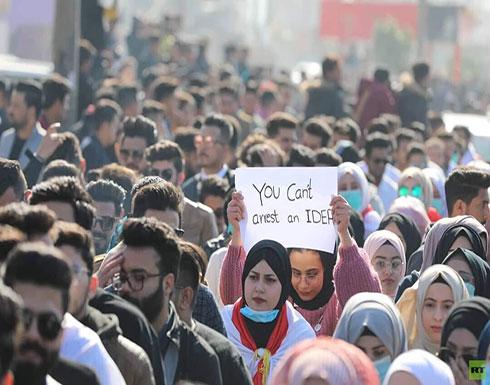 بالفيديو : تظاهرات طلابية حاشدة في بغداد والمحافظات الجنوبية