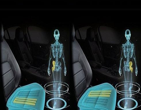مقعد سيارة يحارب أضرار الجلوس لوقت طويل