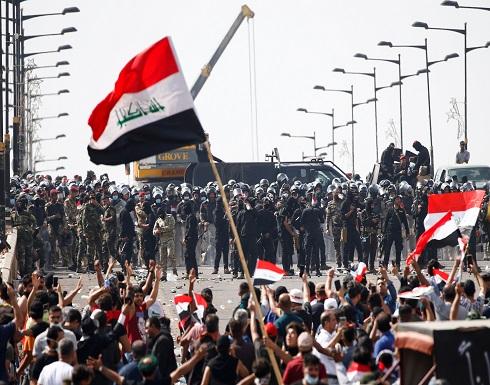 تظاهرات غاضبة في بغداد تطالب باستقالة الحكومة .. شاهد