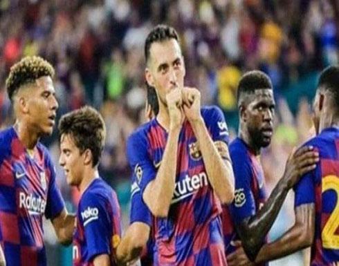 """برشلونة يقهر نابولي بغياب ميسي و""""تواجد"""" كوتينيو"""