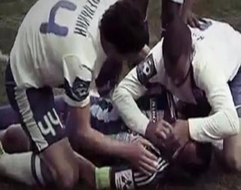 وفاة لاعب مصري ابتلع لسانه خلال مباراة كرة قدم