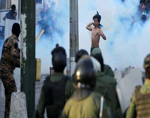 شاهد : مقتل متظاهر برصاص القوات الأمنية بعد صدامات بينهم في بغداد