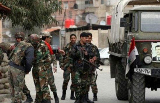 قوات النظام تسيطر على السخنة وتتقدم بريف الرقة