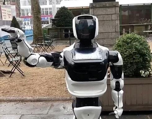 روبوت يتجول في نيويورك بحثاً عن كورونا