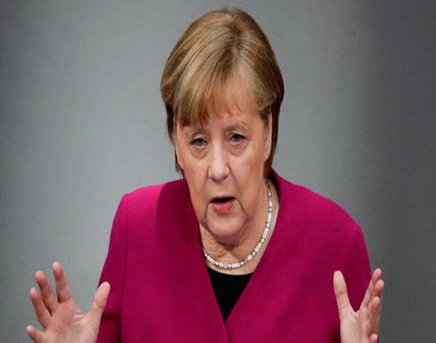 ميركل: بروكسل وواشنطن تتبنيان مواقف مشتركة تجاه روسيا والصين وتركيا