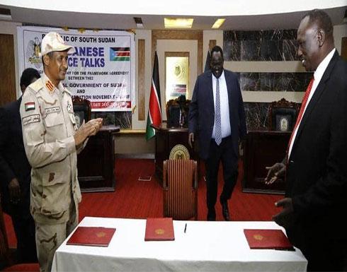 توقيع اتفاق سلام أولي بين الخرطوم والحركة الشعبية- شمال