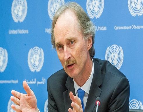 بيدرسون: الأمم المتحدة غير منخرطة في الانتخابات الرئاسية السورية المقبلة