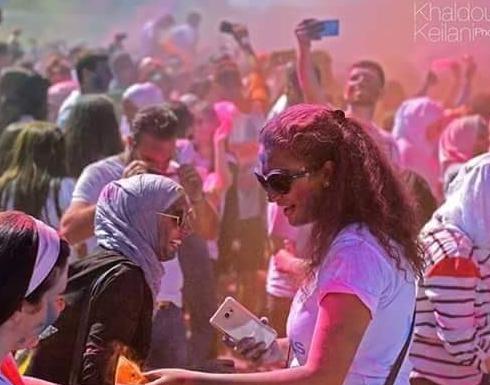 """بالصور : العلويون يقيمون ماراثون """"كوكب دمشق"""" احتفالا بتدمير حلب"""