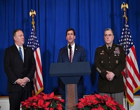 واشنطن: الغارات على كتائب حزب الله ناجحة وتهدد بإجراءات أخرى