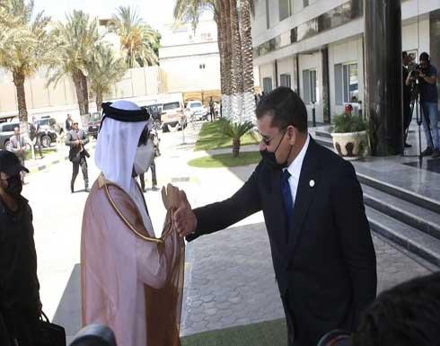 ليبيا وقطر تبحثان تعزيز العلاقات الثنائية