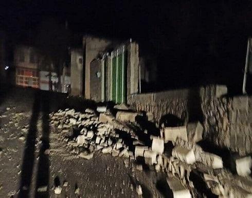 هزة أرضية بقوة 5.6 درجة تضرب مدينة سي سخت جنوبي إيران (صور)