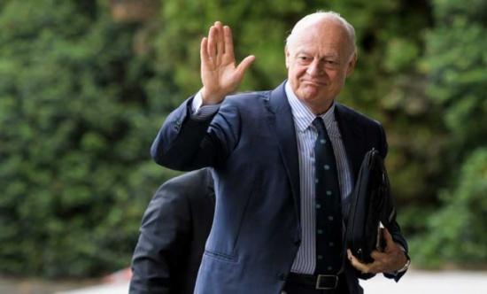 المعارضة السورية تجتمع للمرة الأولى في جنيف7 مع دي ميستورا