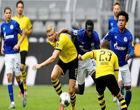 دورتموند يقسو على شالكه في أمسية عودة الدوري الألماني