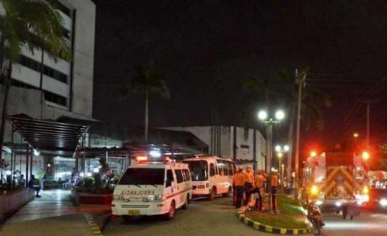 18 قتيلا وثمانية جرحى في حريق داخل عيادة بالإكوادور