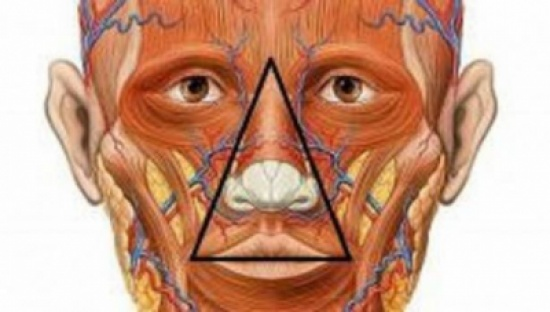 هل تعرفون ما هو مثلث الموت في الوجه؟