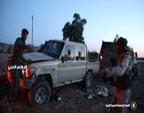 فيديو يظهر سيطرت الجيش الليبي علي معسكر اللواء الرابع بمنطقة العزيزية بالعاصمة طرابلس