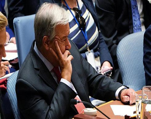 غوتيريس يحثّ روسيا وإيران وتركيا على حماية سكان إدلب