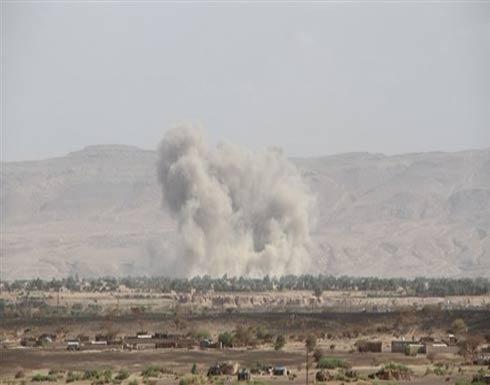 التحالف يستهدف تجمعات لميليشيا الحوثي في صرواح