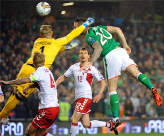 الدنمارك تسحق إيرلندا وتحصد تذكرة التأهل إلى مونديال روسيا