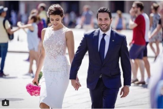 وسام بريدي وريم السعيدي تزوجا مدنياً والحب انتصر – بالصورة