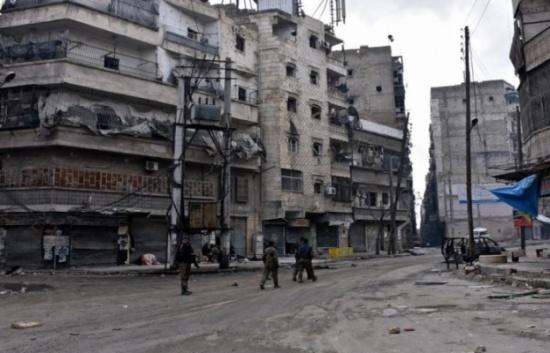 شرطة عسكرية روسية في أحياء حلب الشرقية
