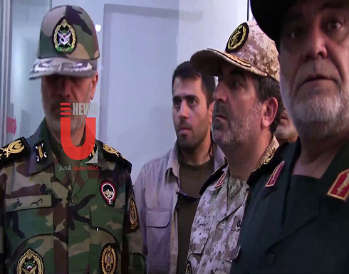 شاهد :  وزير الدفاع الايراني في حلب والنظام لا يعلم