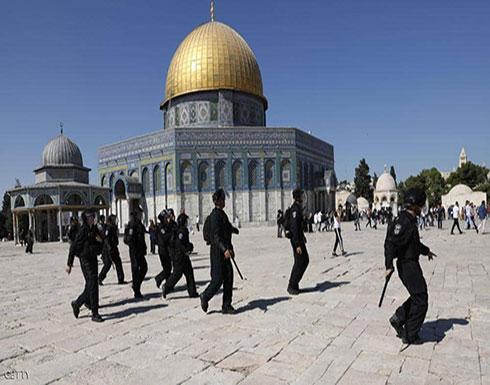 الجيش الإسرائيلي يقتحم المسجد الأقصى بعد عملية طعن بالقدس