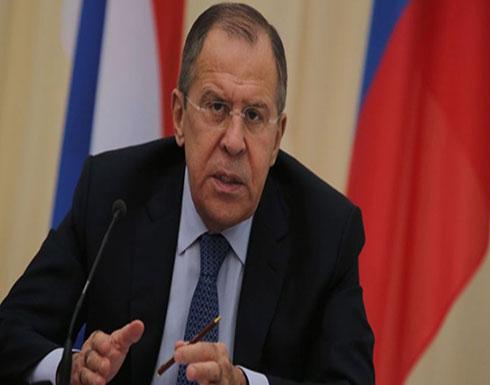 لافروف: روسيا مستمرة بدعم فلسطين