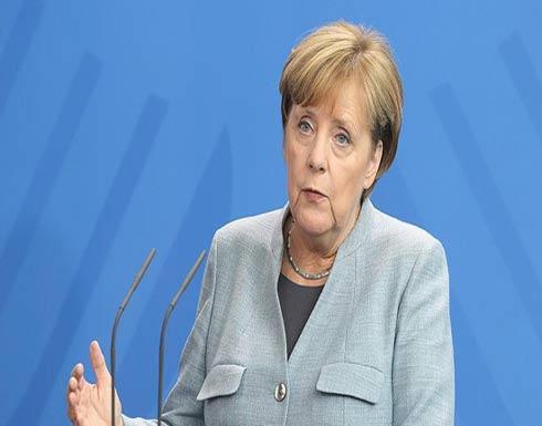 ميركل : لن نضرب سوريا