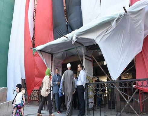 صور.. معهد الأورام في مصر يعود للعمل بعد التفجير