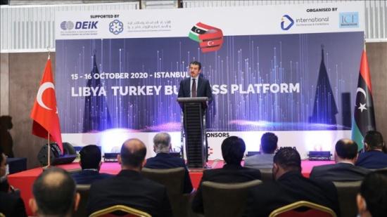 المنتدى الاقتصادي التركي الليبي الأول يبدأ أعماله في اسطنبول