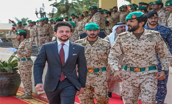 ولي العهد يشارك في تمرين لمكافحة الإرهاب في البحرين